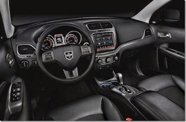 2014 Dodge Journey Crossroad interior