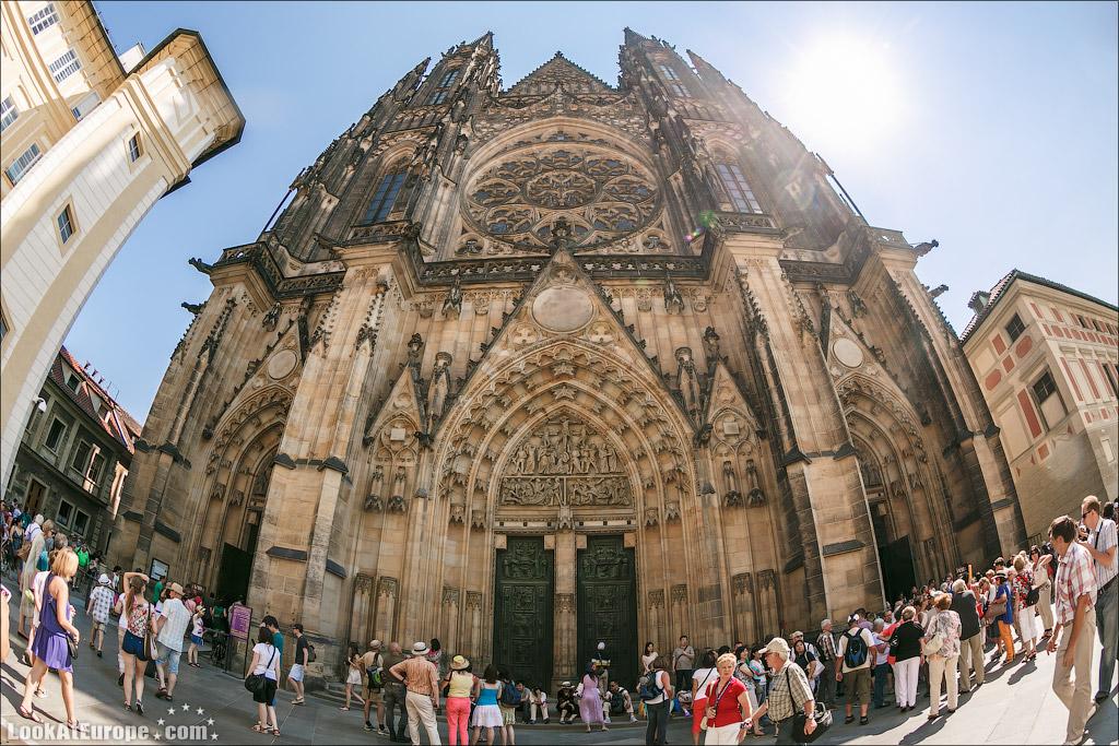 Прага. Собор Святого Вита. Западный вход