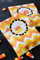 Crazy Little Projects Treat Bag Stickers