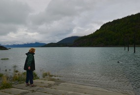 Day use area at Chilkat State Park