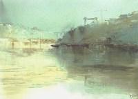 acuarela de Francisco Castro watercolor