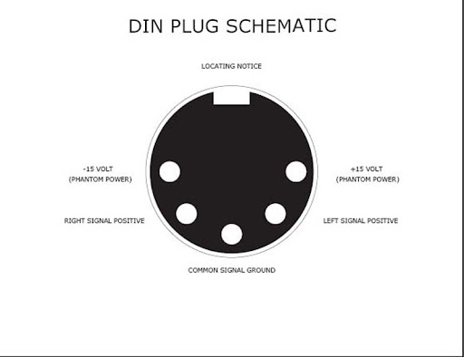 wiring mic 5 pin din connector wiring diagram hd quality