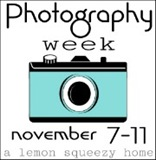 Photography Week Button, Teal 2