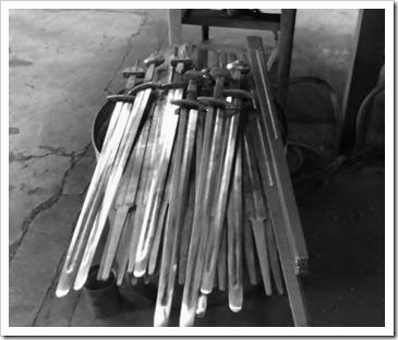 pile of swords