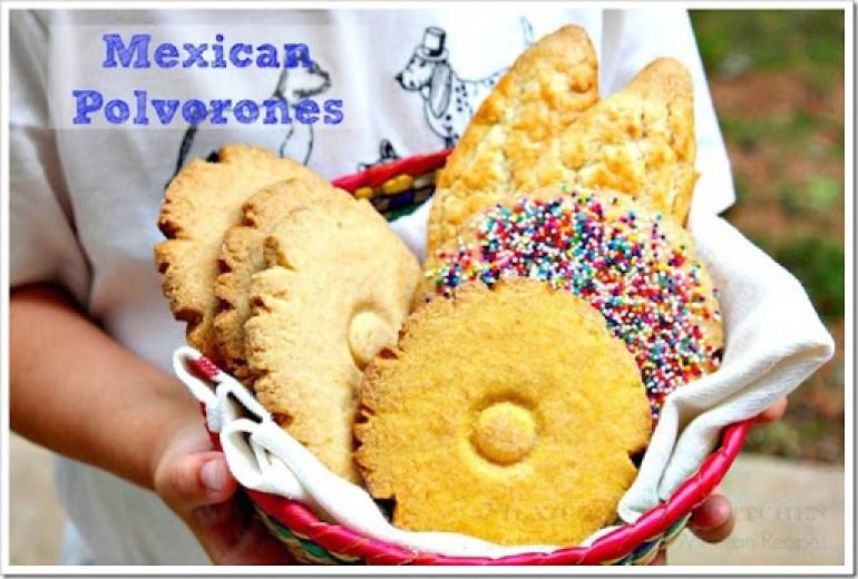 Polvorones mexicanos