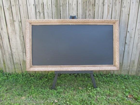 Chalkboard & Display Easel