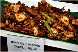 Buffet ramadhan terbaik - ikan bilis sambal petai