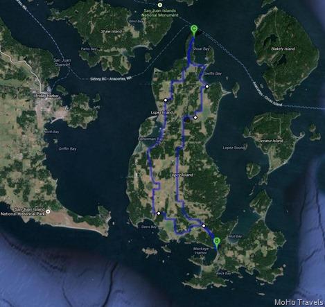 Lopez Island tour