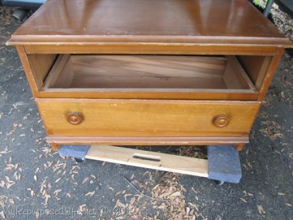 Chest of Drawers into Entertainment Center (16)