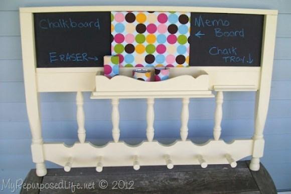 headboard chalkboard