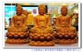 『九龍佛像藝品』-線上神明小百科-三寶佛~橫三世佛~中央釋迦牟尼佛,東方藥師佛,西方阿彌陀佛【東方三聖~華嚴三聖~西方三聖】