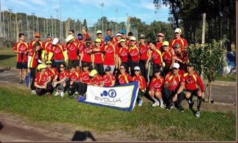 Equipe de corrida Evolua em Bento Gonçalves