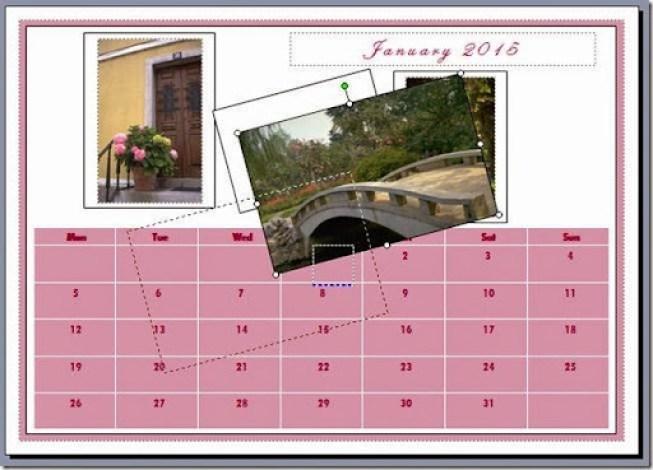 mencetak kalendar ke printer