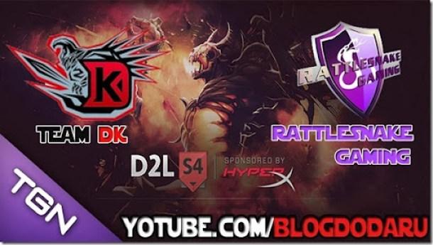 DK x Rattlesnake - D2L - Dota 2