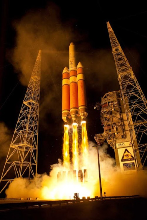 Launch of Delta IV NROL-32, Cape Canaveral AFS, Florida
