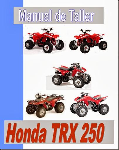 manual taller trx 250
