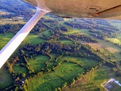 aerial photo over Rusk County