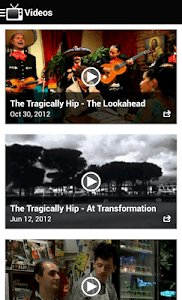 The Tragically Hip Official screenshot 4