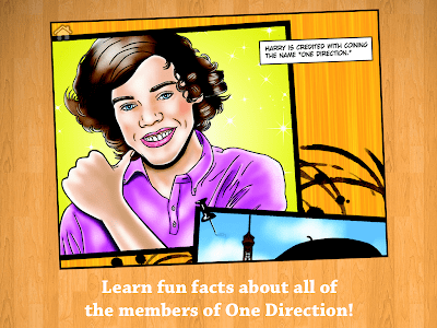 Fame: One Direction Comic Book screenshot 4