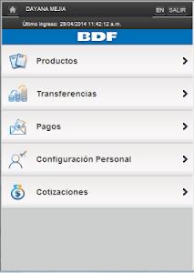 iBDF Móvil screenshot 7
