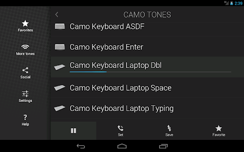 Camo Tones - Secret Ringtones screenshot 5