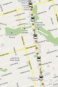 TTC Toronto Bus Tracker  Pro screenshot 1