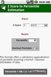 MedCalc 3000 EBM Stats screenshot 6