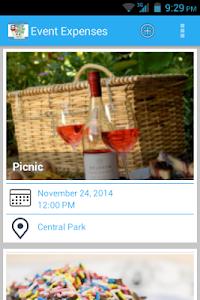Event Expenses screenshot 5