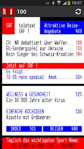 Swiss Teletext screenshot 0