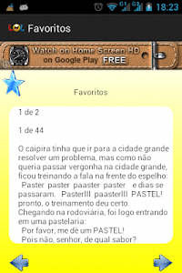 Piadas Brasileiras screenshot 4