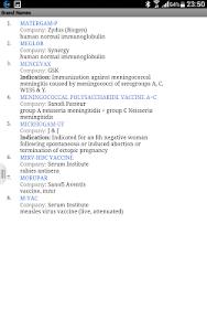 Brand Name of vaccines (India) screenshot 5