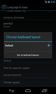 RS - Hardware Keyboard Layouts screenshot 0