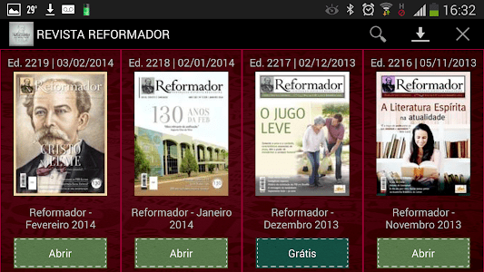 Revista Reformador screenshot 1