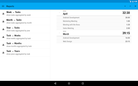 Work Tracker screenshot 5
