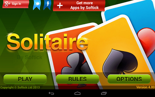 Solitaire screenshot 00