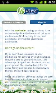 Meds, Medication Discount Card screenshot 1