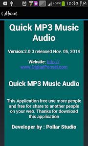 Quick MP3 Music Audio screenshot 7