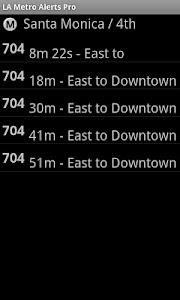 LA Metro Alerts Pro screenshot 2