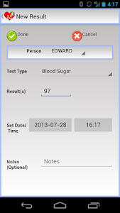 EZ Health Tracker Plus screenshot 1