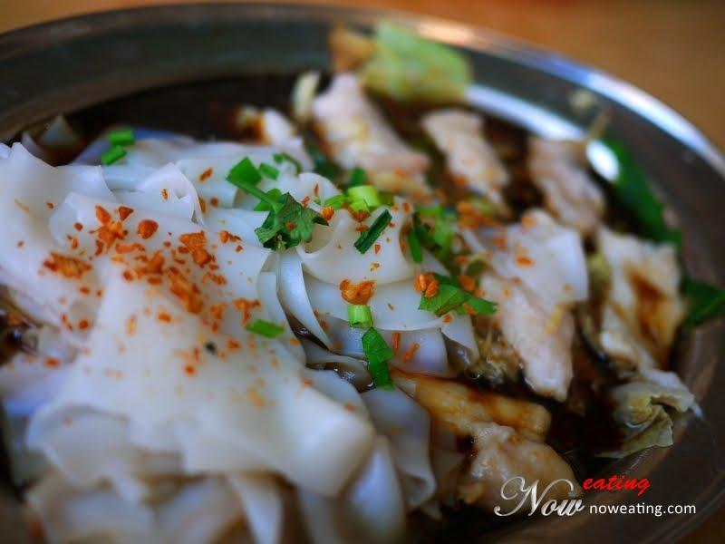 Steam Fish Sliced Hor Fun (魚片蒸河粉) @ Wang Chau Jun 王昭君酸辣魚頭米粉 - Malaysia Food & Restaurant Reviews