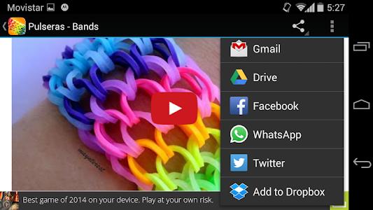 Rubber Band bracelets screenshot 6