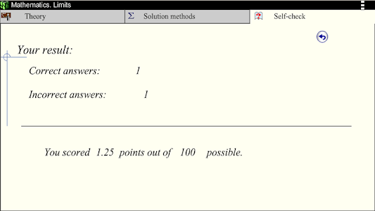 Math. Limits screenshot 13