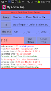 My Amtrak Trip screenshot 3
