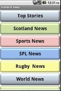 Scottish News screenshot 0