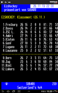 TELETEXT (mobile Website) screenshot 7