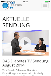 Das Diabetes TV screenshot 0