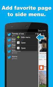 SocialLine for Twitter screenshot 4