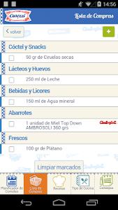 Carozzi Carozzinando Recetas screenshot 2