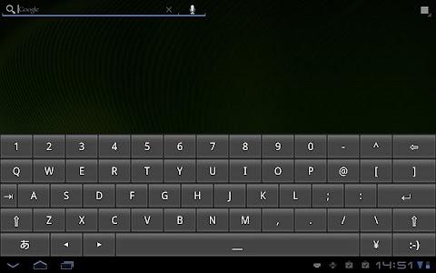 OpenWnn QWERTY screenshot 2