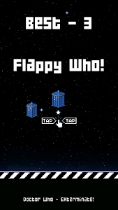 FLAPPY WHO : Doctor who screenshot 0